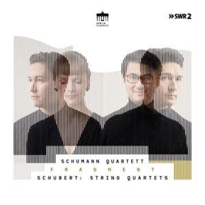 """Schubert: String Quartets Nos.6 & 13 """"Rosamunde"""", Quartet Fragment D703 - Schumann Quartett"""