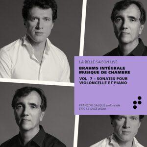 Brahms: Sonates Pour Violoncelle Et Piano - Eric Le Sage