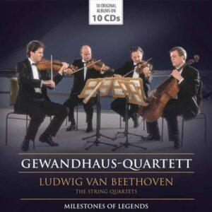 Beethoven: Complete String Quartets - Gewandhaus Quartett