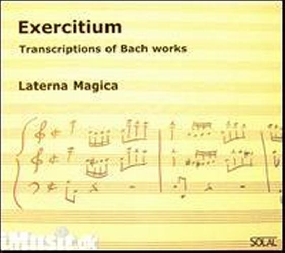Transcriptions of bach exercitium