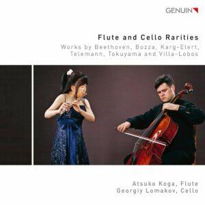 Flute And Cello Rarities - Atsuko Koga