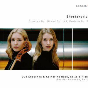 Shostakovich: Sonatas Op.40 & Op.147, Prelude Op.97 - Anouchka & Katharina Hack