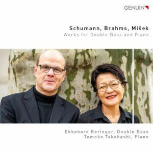 Schumann, Brahms, Misek: Works for Double Bass and Piano - Ekkehard Beringer