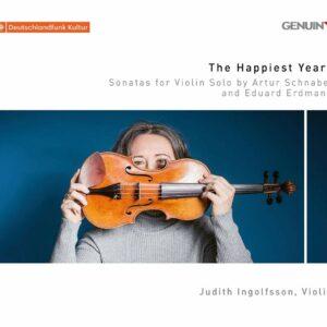 Schnabel / Erdman: Sonatas for Violon Solo - Judith Ingolfsson