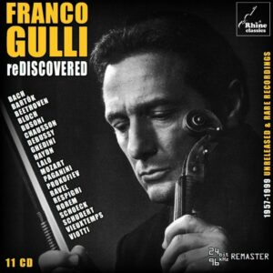 Undiscovered: 1957-1999 Unreleased & Rare Recordings - Franco Gulli