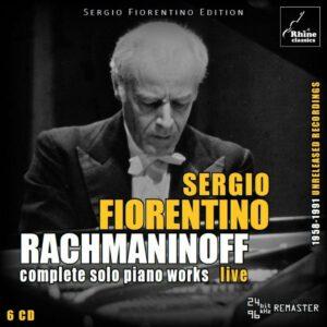 Rachmaninov: Complete Piano Works - Sergio Fiorentino
