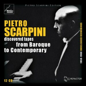 Discovered Tapes | From Baroque To Contemporary - Pietro Scarpini
