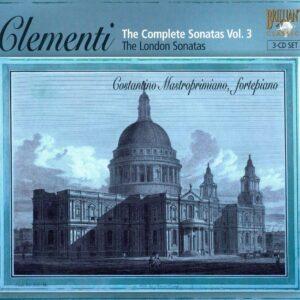Muzio Clementi : Sonates pour piano (Intégrale, volume 3)