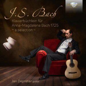 Bach: Klavierbuchlein Fur Anna-Magdalena Bach - Jan Depreter