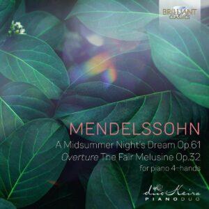 Mendelssohn: A Midsummernight's Dream Op.61, Overture The Fair Melusine - Duokeira Pianoduo