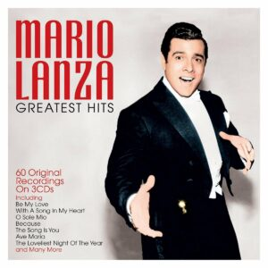 Greatest Hits, 60 Original Recordings On 3CD's - Mario Lanza