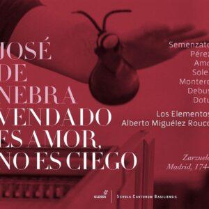 Jose De Nebra: Vendado Es Amor, No Es Ciego - Los Elementos