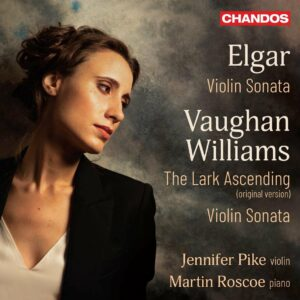Elgar: Violin Sonata / Vaughan William: Violin Sonata, The Lark Ascending - Jennifer Pike
