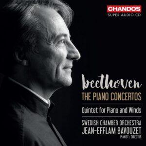 Beethoven: The Piano Concertos - Jean Efflam Bavouzet
