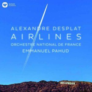 Alexandre Desplat: Airlines (Vinyl) - Emmanuel Pahud