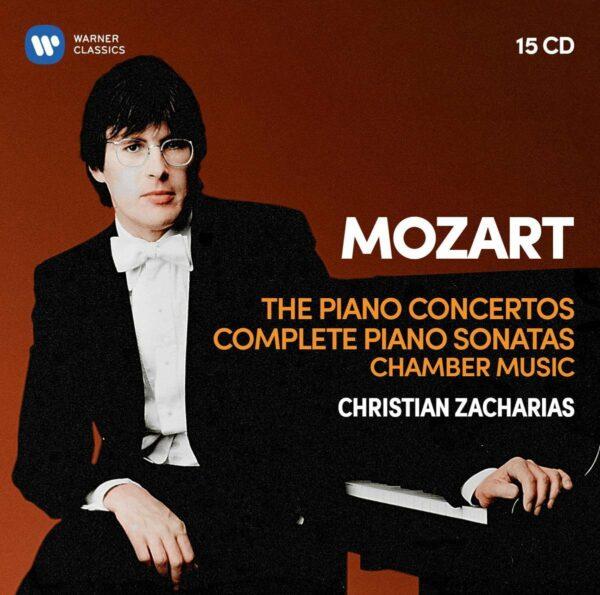 Mozart: Piano Concertos, Piano Sonatas, Chamber Music - Christian Zacharias