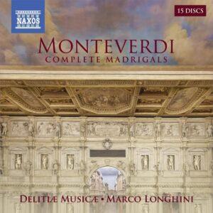 Claudio Monteverdi: Complete Madrigals - Delitia Musica