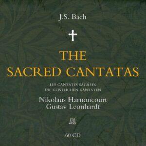 Bach : Les cantates sacrées. Harnoncourt