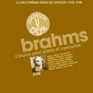 La discothèque idéale de Diapason, vol. 18 / Brahms : L'œuvre pour piano et concertos.