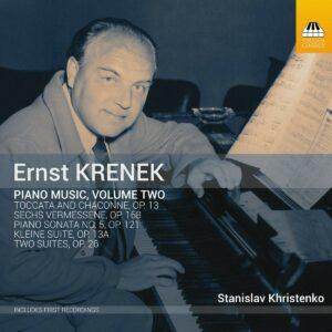 Ernst Krenek: Piano Music Vol.2 - Stanislav Khristenko