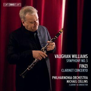 Vaughan Williams: Symphony No.5 / Finzi: Clarinet Concerto - Michael Collins