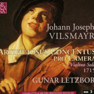 Vilsmayr: Artificiosus Concentus Pro Camera - Gunar Letzbor