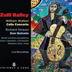 Walton: Cello Concerto / Strauss: Don Quixote - Zuill Bailey