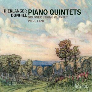 Dunhill / Erlanger: Piano Quintets - Goldner String Quartet