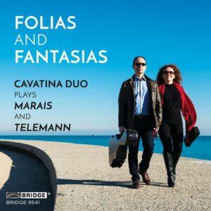 Cavatina Duo Plays Marais & Telemann