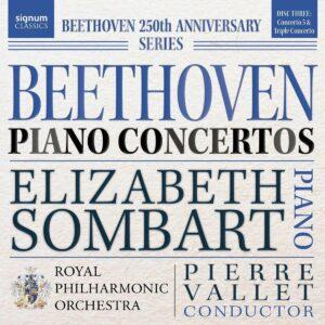 Beethoven: Piano Concertos Vol. 3 - Elizabeth Sombart