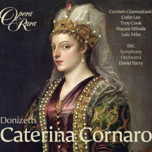 Donizetti : Caterina Cornaro. Giannattasio, Lee, Parry.