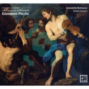 Giovanni Picchi: Canzoni Da Sonar Con Ogni Sorte D'Istromenti - Concerto Scirocco