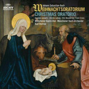 Bach: Weihnachtsoratorium (Vinyl) - Karl Richter