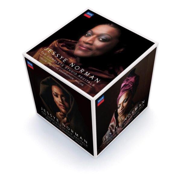 Complete Studio Recitals (Limited Edition) - Jessye Norman