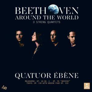 Beethoven Around The World (Vinyl) - Quatuor Ebene