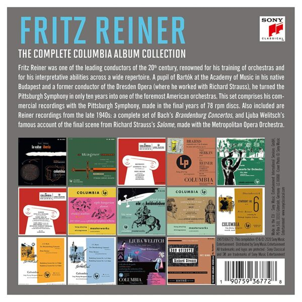 The Complete Columbia Album Collection - Fritz Reiner