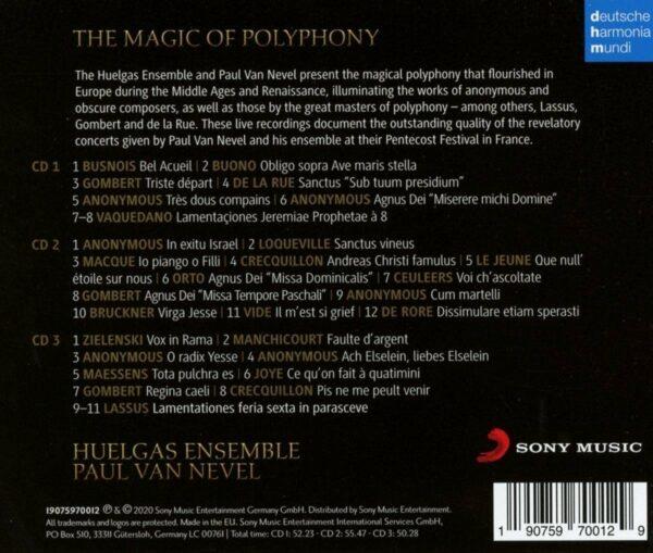 The Magic Of Polyphony - Huelgas Ensemble