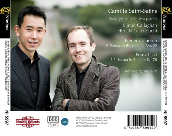 Camille Saint-Saens: Arrangements For 2 Pianos - Hiroaki Takenouchi & Simon Callaghan