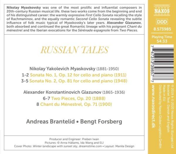Russian Tales - Andreas Brantelid
