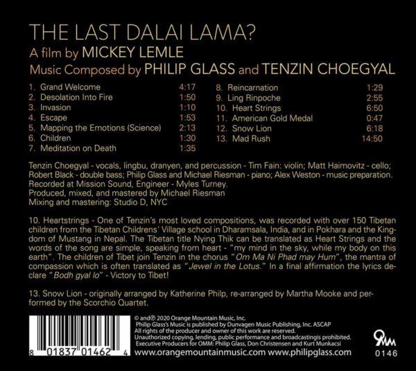 Philip Glass / Tenzin Choegyal: The Last Dalai Lama?