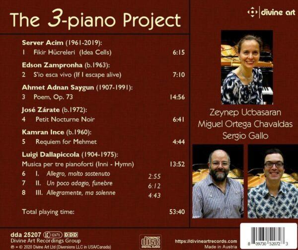 The 3-Piano Project - Sergio Gallo
