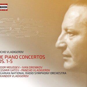 Pancho Vladigerov: The Piano Concertos Nos. 1-5 - Teodor Moussev