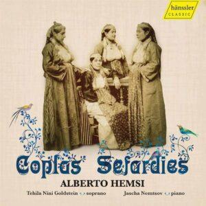 Alberto Hemsi: Coplas Sefardies - Tehila Nini Goldstein