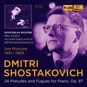 Shostakovich: 24 Preludes & Fugues Op.87 - Svjatoslav Richter