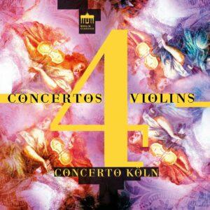 Concertos 4 Violins - Concerto Koln