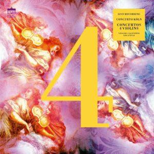 Concertos 4 Violins (Vinyl) - Concerto Koln