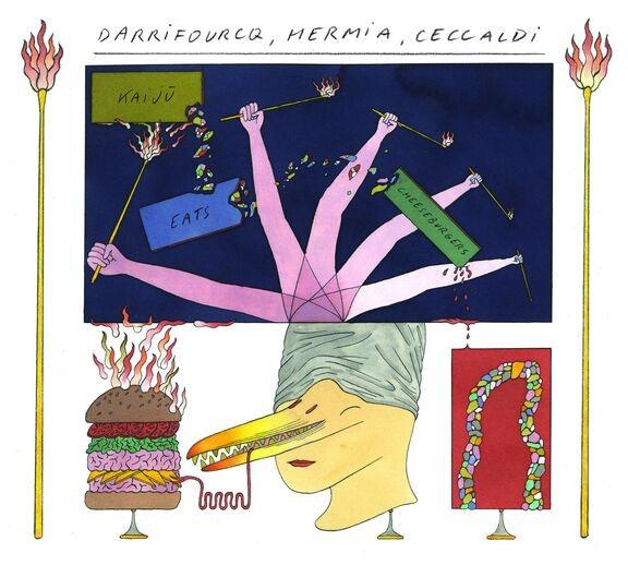 Kaiju Eats Cheeseburgers - Manuel Hermia