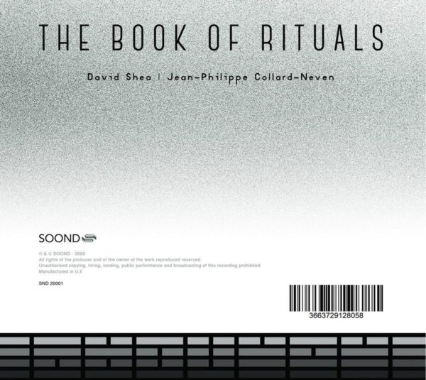 The Books Or Rituals - Jean-Philippe Collard-Neven & David Shea