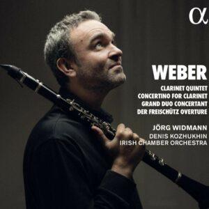 Weber: Clarinet Quintet, Concerti For Clarinet, Grand Duo - Jörg Widmann
