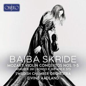 Mozart: Violin Concertos Nos. 1-5 - Baiba Skride